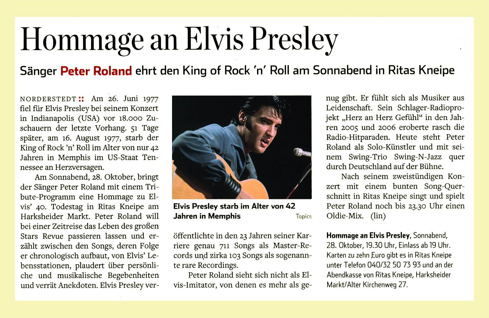 Artikel Hamburger Abendblatt 2017-10-25
