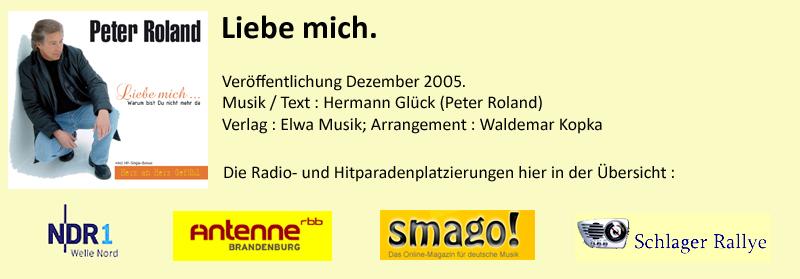 "Peter Roland ""Liebe mich"""