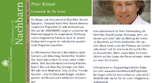 Pflegen & Wohnen Uhlenhorst Fasching 2016 Peter Roland