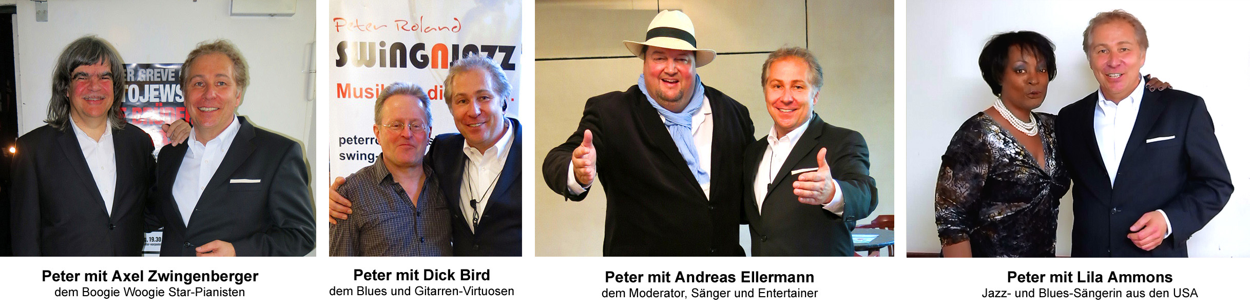 Axel Zwingenberger, Dick Bird, Andreas Ellermann, Lila Ammons, Peter Roland