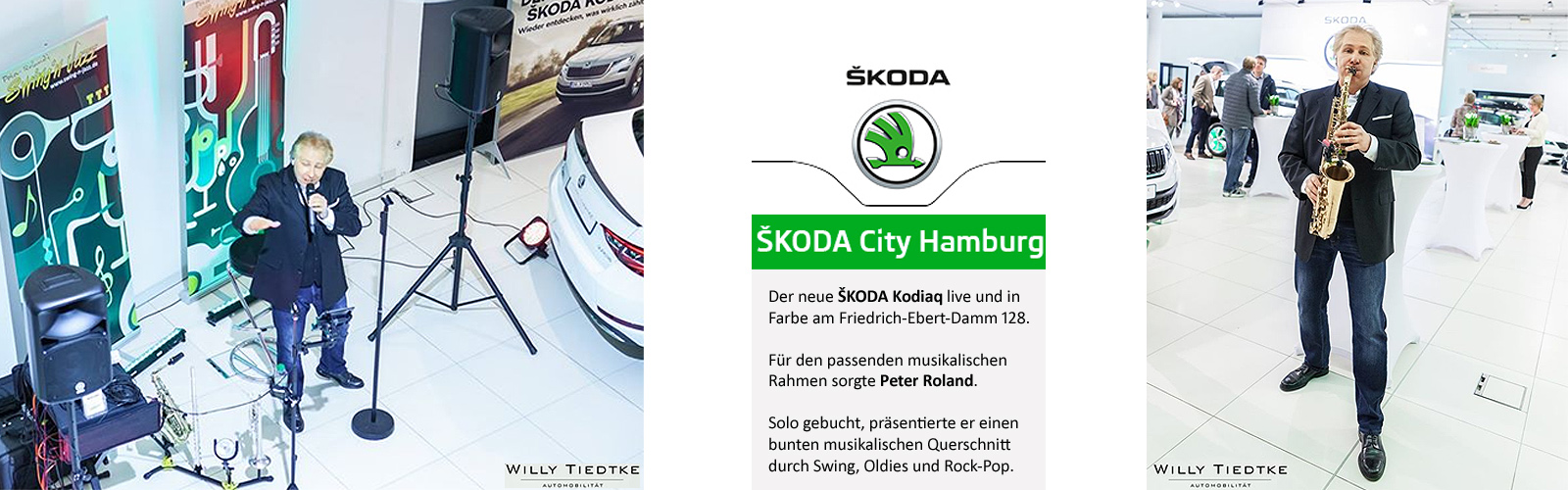 Skoda City Hamburg Peter Roland Solo