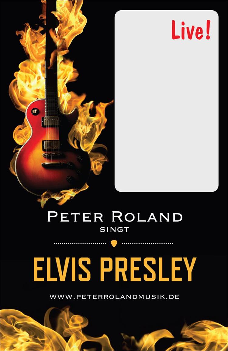 Plakat Elvis Presley 750