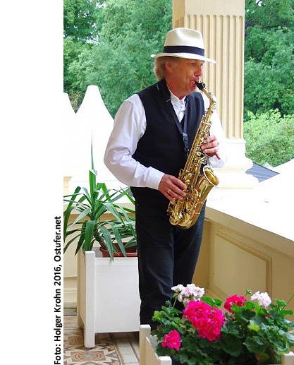 Peter Roland Saxophon Schloß Bredeneek 90L