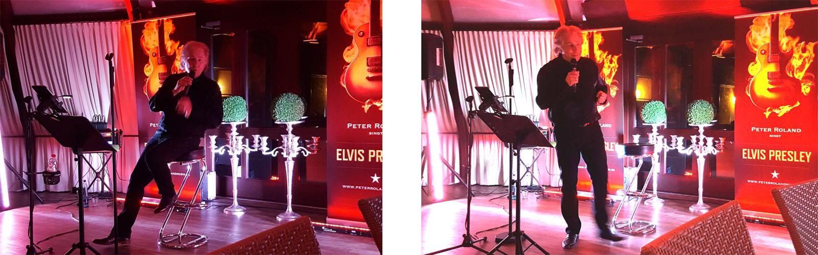 Solo-Konzert Peter Roland singt Elvis Presley in Heeslingen