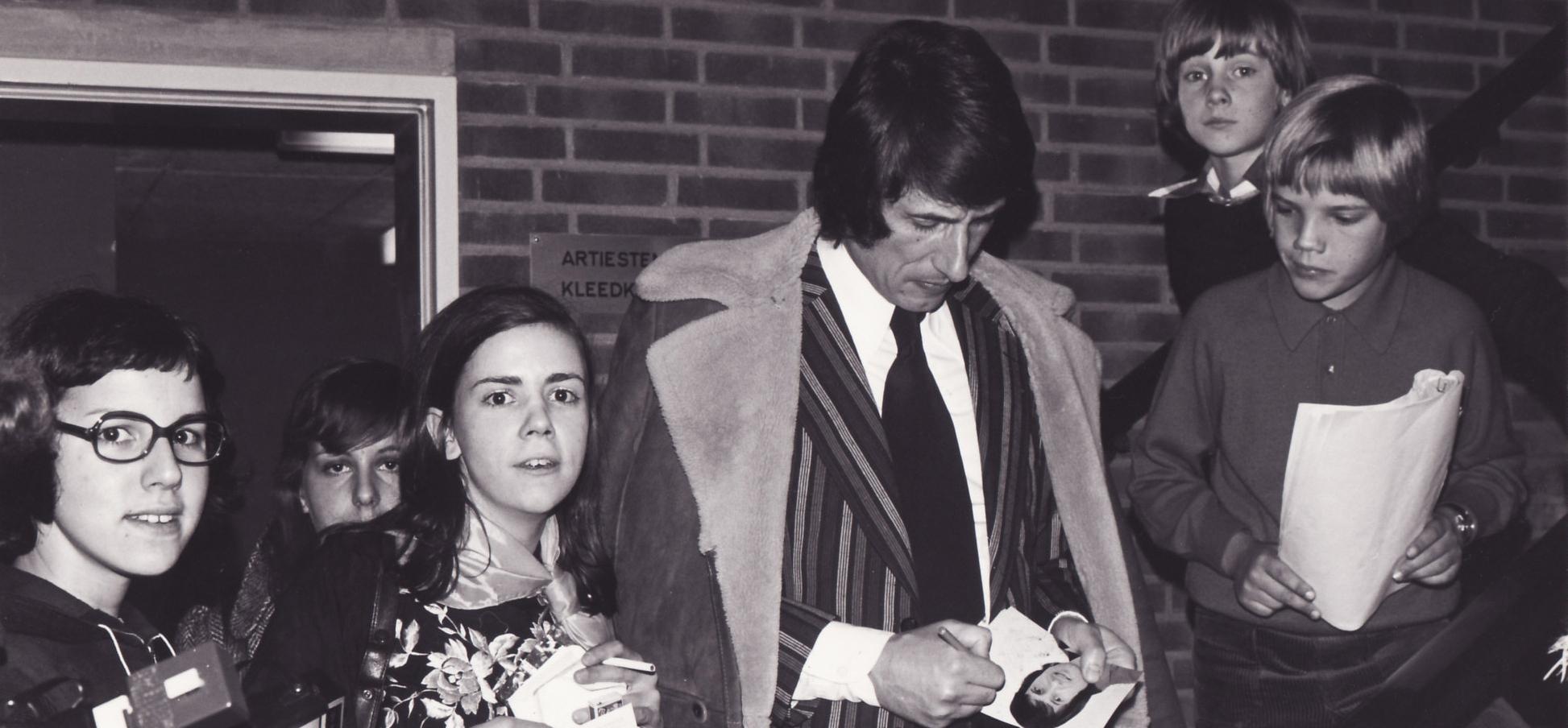 Udo Jürgens 1974 in Amsterdam