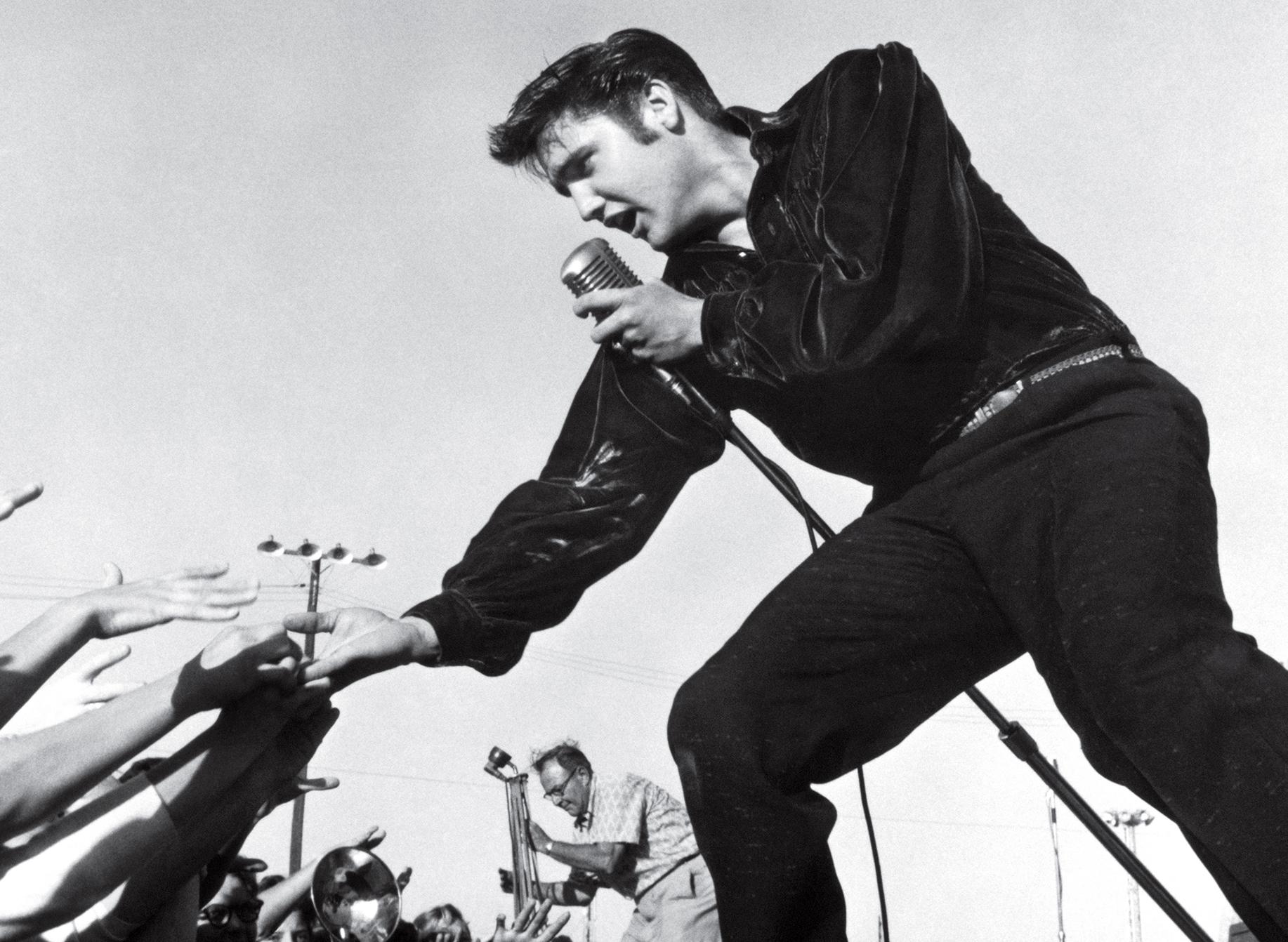 Elvis 1957 ausschnitt