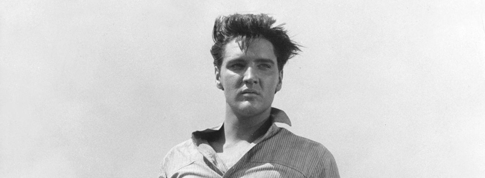 Elvis im wind klein