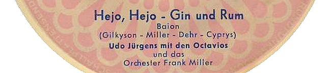 Hejo Hejo Gin und Rum