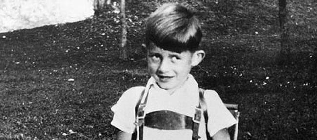 Udo Jürgens als Kind